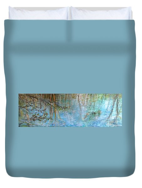 River's Stories  Duvet Cover