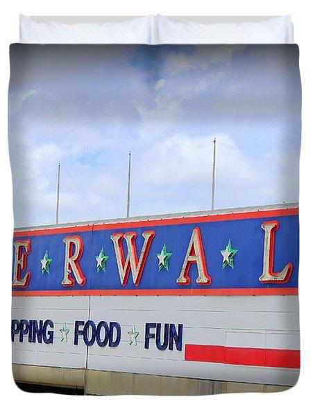 Riverwalk Duvet Cover by Beth Vincent