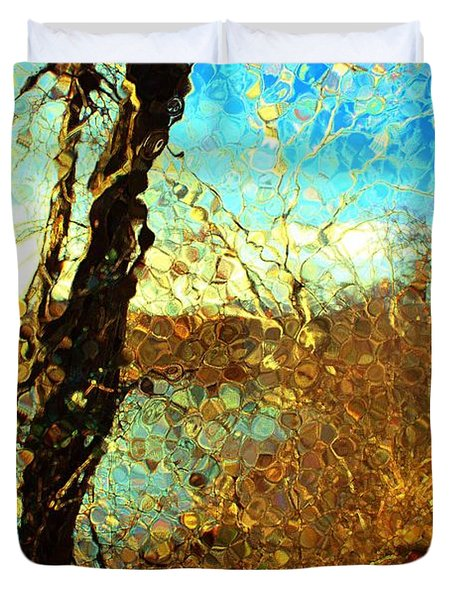 Riverwalk Duvet Cover by Terence Morrissey