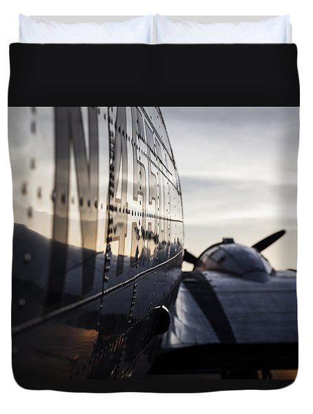 Riveting Sunrise Duvet Cover