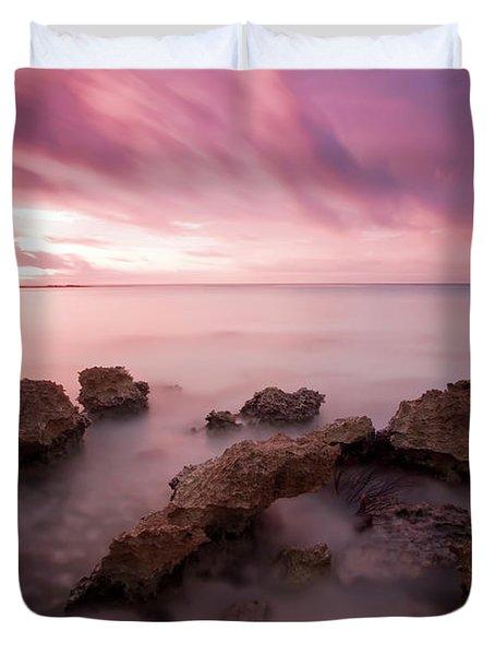 Riviera Maya Sunrise Duvet Cover