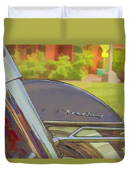 Road King Duvet Cover