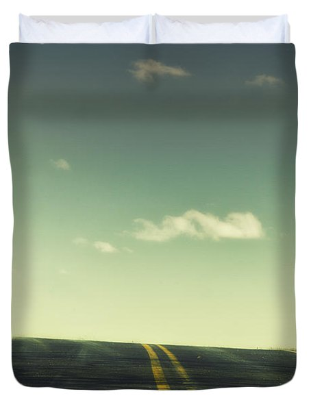 Road Duvet Cover by Margie Hurwich