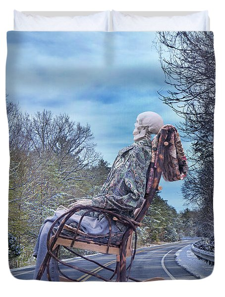Road Rocker Duvet Cover