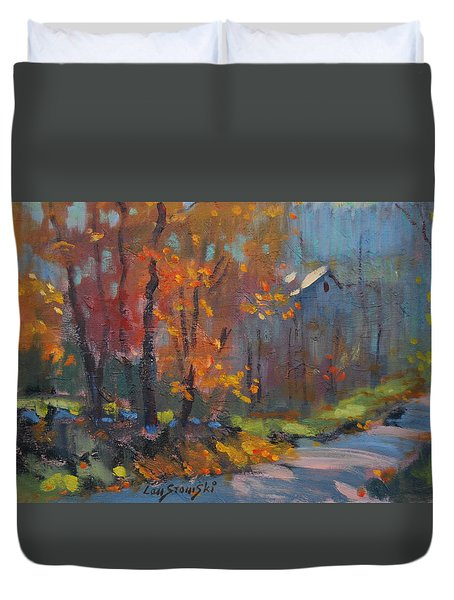 Road South Duvet Cover