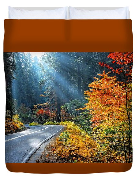 Road To Glory  Duvet Cover