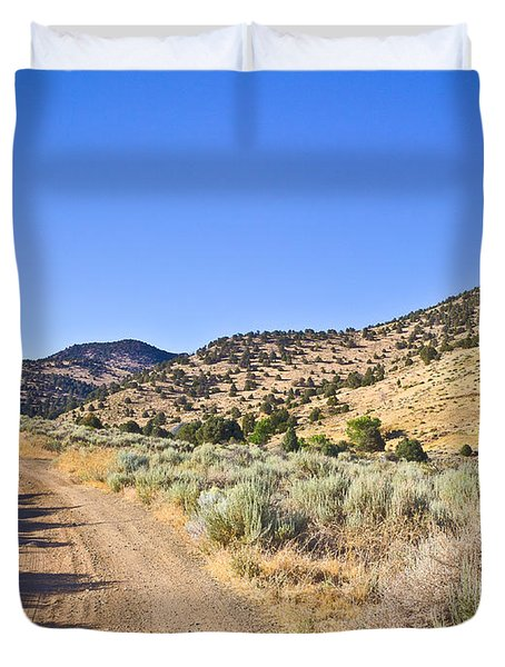 Road To Nowhere - Storey Nevada Duvet Cover