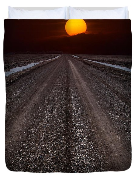 Road To The Sun Duvet Cover