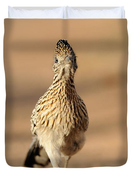 Roadrunner Running Duvet Cover