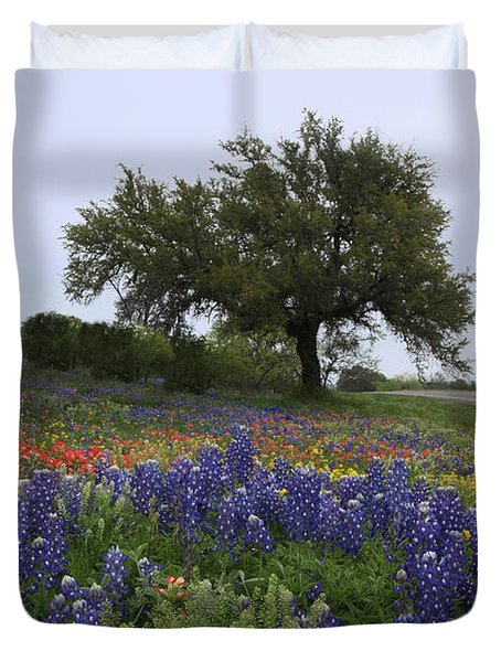 Roadside Splendor Duvet Cover