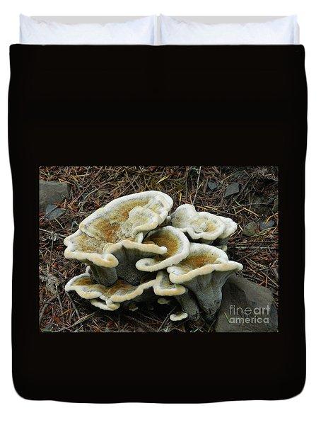 Duvet Cover featuring the photograph Roadside Treasure by Chalet Roome-Rigdon