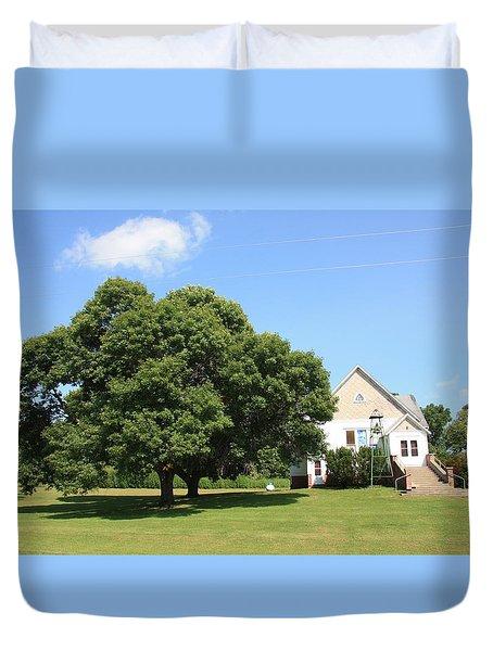 Roanoke Union Church Duvet Cover