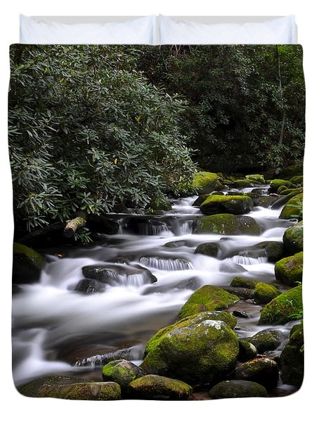 Roaring Fork Duvet Cover by Frozen in Time Fine Art Photography
