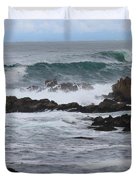 Roaring Sea Duvet Cover