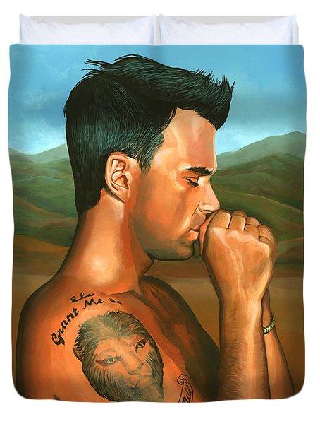 Robbie Williams 2 Duvet Cover