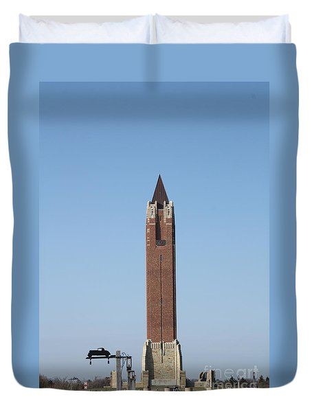 Robert Moses Tower At Jones Beach Duvet Cover