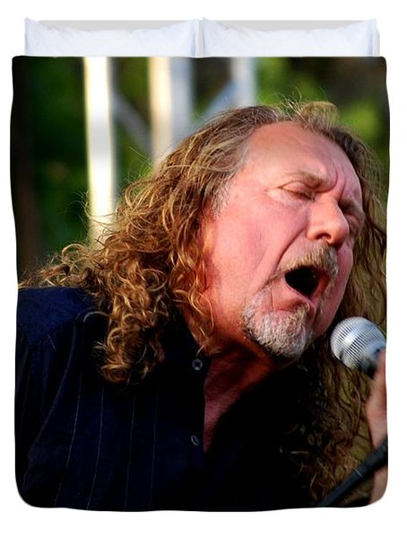 Robert Plant 2 Duvet Cover