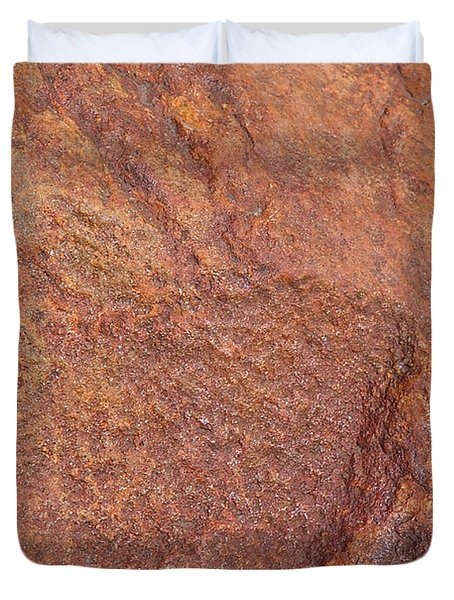 Rock Abstract #3 Duvet Cover