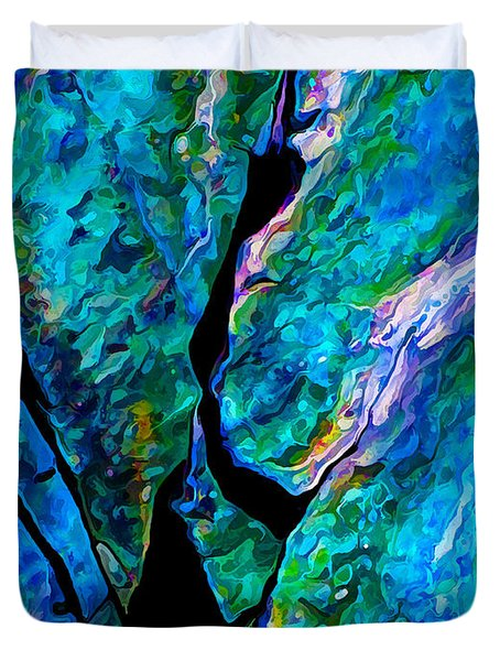 Rock Art 18 Duvet Cover by ABeautifulSky Photography