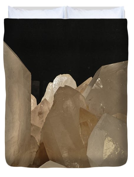 Rock Crystals Duvet Cover by Heiko Koehrer-Wagner