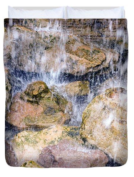 Rock Falls Duvet Cover