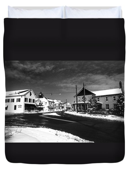 Rock Hall Maryland Duvet Cover by Skip Willits
