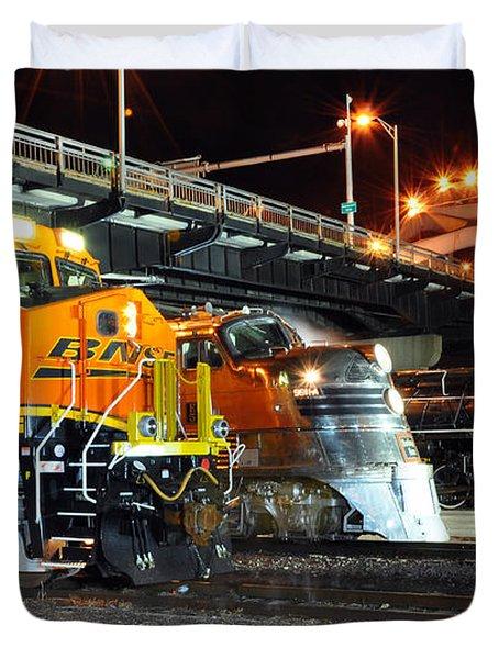 Rock Island Train Festival 2011 Duvet Cover