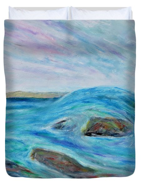 Rock Of Ages Duvet Cover
