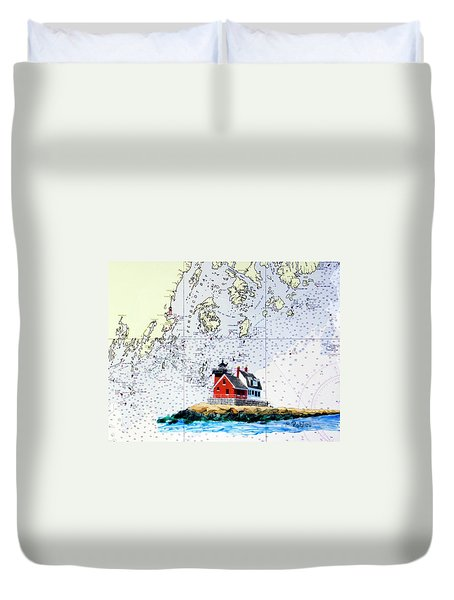 Rockland Breakwater Light Duvet Cover