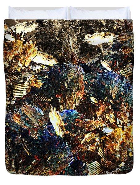 Rocks And Minerals Duvet Cover by Klara Acel
