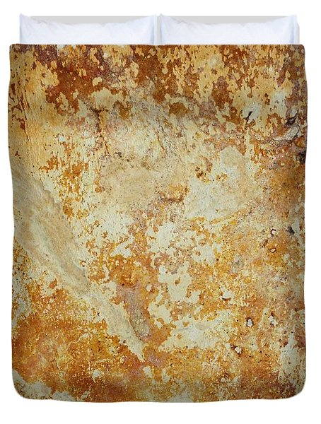 Duvet Cover featuring the photograph Rockscape 4 by Linda Bailey