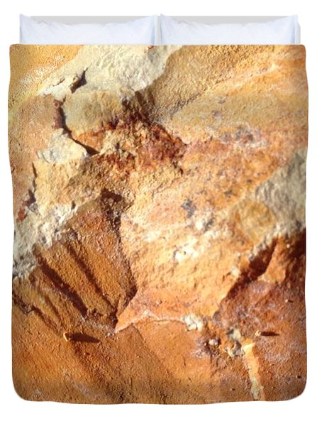 Rockscape 8 Duvet Cover by Linda Bailey