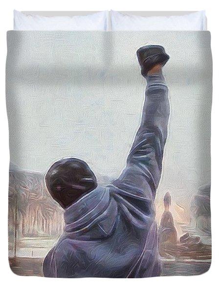 Rocky Balboa Duvet Cover
