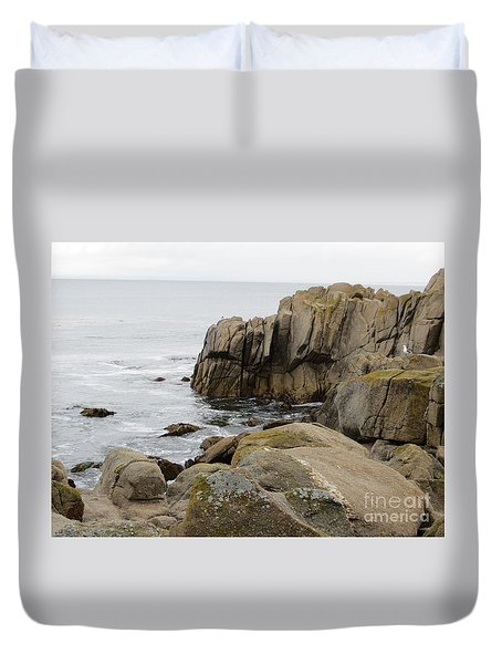 Rocky Formations Duvet Cover