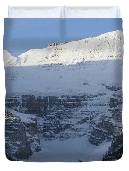 Rocky Mountain Blue Duvet Cover