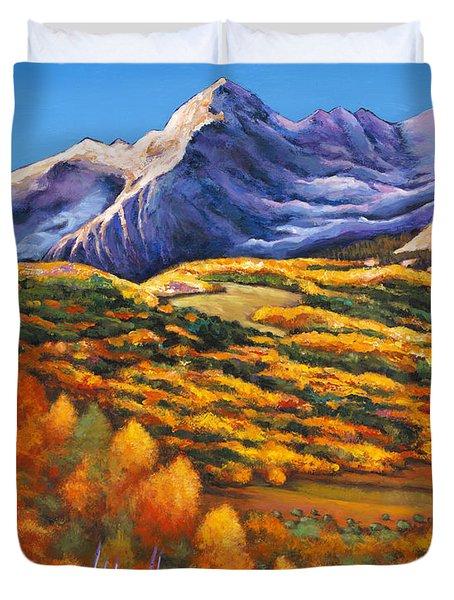 Rocky Mountain High Duvet Cover
