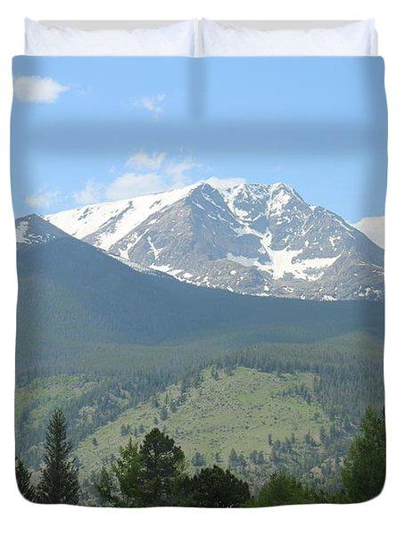 Rocky Mountain National Park - 2 Duvet Cover