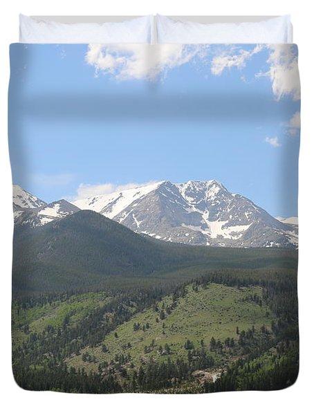 Rocky Mountain National Park - 3  Duvet Cover