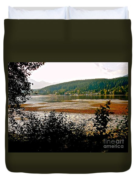 Rocky Point Port Moody Duvet Cover