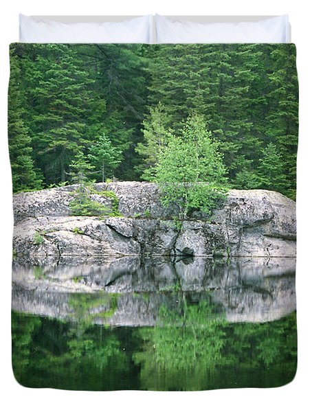 Rocky Reflection Duvet Cover