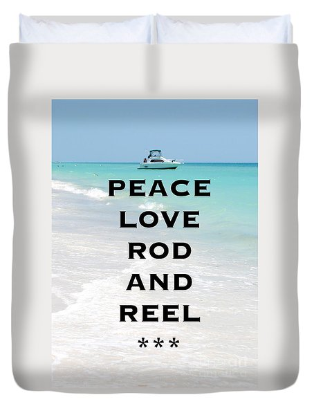 Rod And Reel Restaurant Anna Maria Island  Duvet Cover by Margie Amberge