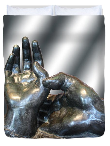 Rodin Series 02 Duvet Cover