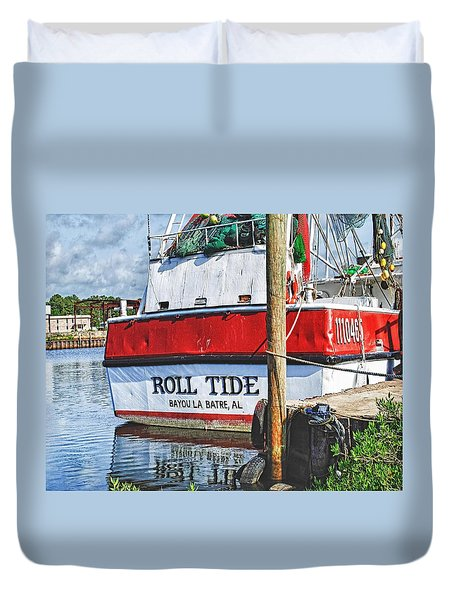 Roll Tide Stern Duvet Cover