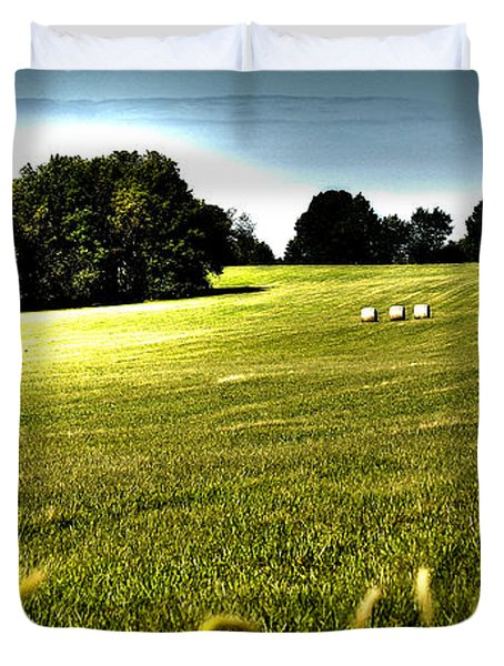 Rolling Pastures Duvet Cover