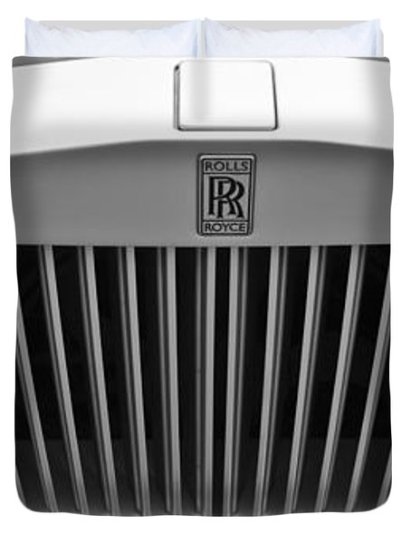 Rolls Royce Duvet Cover by Maj Seda