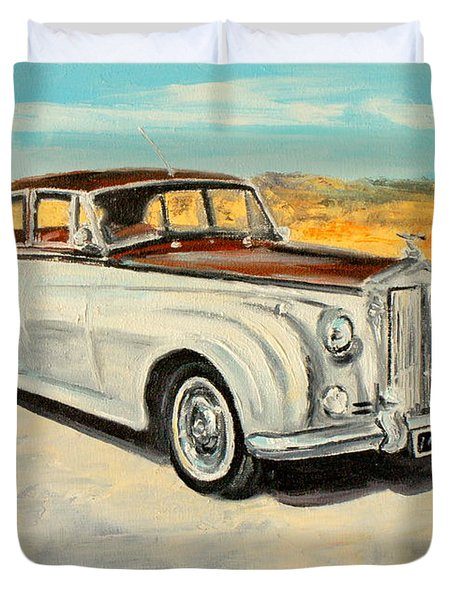 Rolls Royce Silver Cloud Duvet Cover