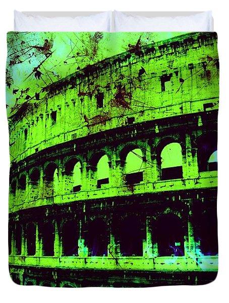 Roman Colosseum Duvet Cover