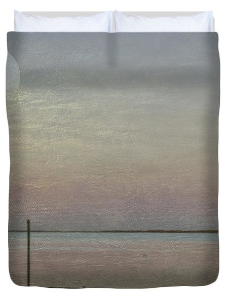 Romancing The Moon Duvet Cover