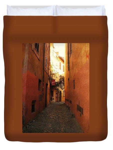 Romano Cartolina Duvet Cover