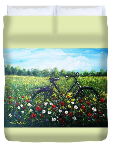 Romantic Break Duvet Cover